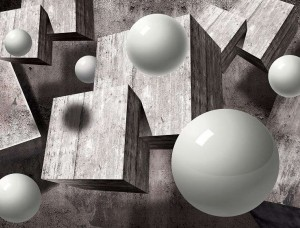 Imagine futuristă în alb şi negru - 10235