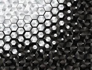 Forme minimaliste în negru şi alb - 10684