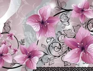 Tapet mural cu orhidee - 1231