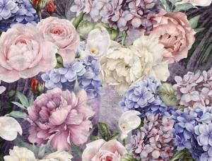 Decoraţiune de perete, buchet cu flori - 13515