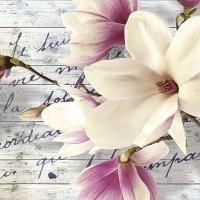 Tapet cu temă florală - 2878