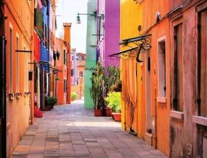 Fototapet cu o stradă mediteraneană - 10745