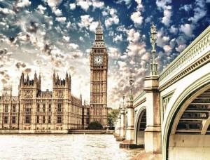 Tapet vedere din Londra - 844