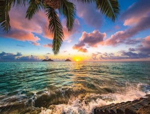 Răsărit de soare deasupra oceanului - 11748
