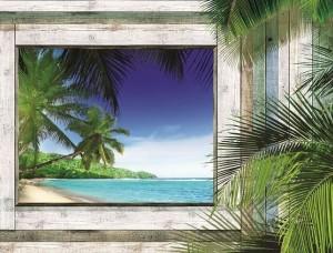 Tapet mural plajă tropicală - 1223