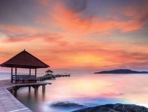 Fototapet locul perfect pentru relaxare la tropice - 12626
