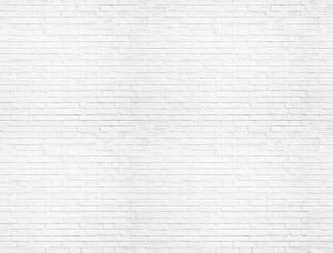 Tapet imitaţie perete din cărămidă albă - 1782