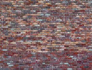 Tapet perete din cărămidă în culori pastelate - 11975