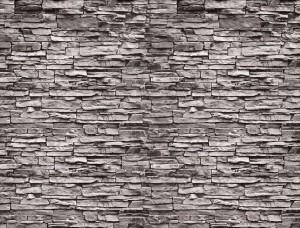 Tapet imitație de zid de piatră din ardezie - 2194