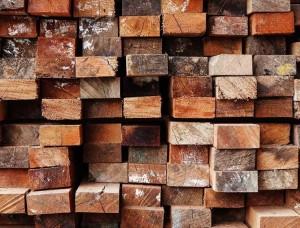 Tapet cu efect 3D imitaţie lemn - 13043